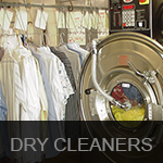 dry cleaners button